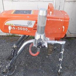Инструменты для нанесения строительных смесей - Окрасочный аппарат ASpro 5000, 0