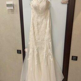 Платья - Свадебное платье размер 42-44 идеальное состояние, 0