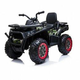Электромобили - Электроквадроцикл детский 47065 (Р) камуфляж, 0