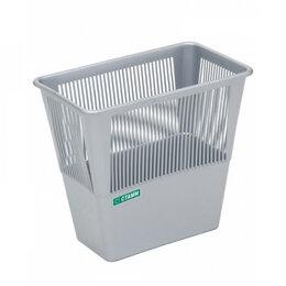 Корзины, коробки и контейнеры - Прямоугольная сетчатая корзина для бумаг Стамм КР32, 0