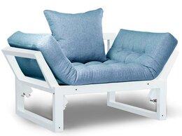 Кресла - Кресло Амбер белый синий сосна, 0