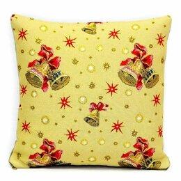 Декоративные подушки - Подушка новогодняя Колокольчики, 0