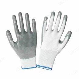 Средства индивидуальной защиты - Перчатки обливные серые, черный облив, 0
