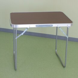 Походная мебель - Стол складной 70*50*60см (метал. d=16*0,8мм) Eurica, 0