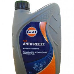 Химические средства - Антифриз концентрированный синий GULF Antifreeze (1л), 0