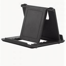 Подставки для мобильных устройств - Настольная мини-подставка для мобильного телефона, черная, 0