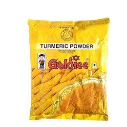 Продукты - Куркума Молотая (Turmeric Powder) 500 г, Goldiee, 0