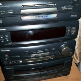 Музыкальные центры,  магнитофоны, магнитолы - Панасоник центр музыкальный из 90х sa ch73, 0