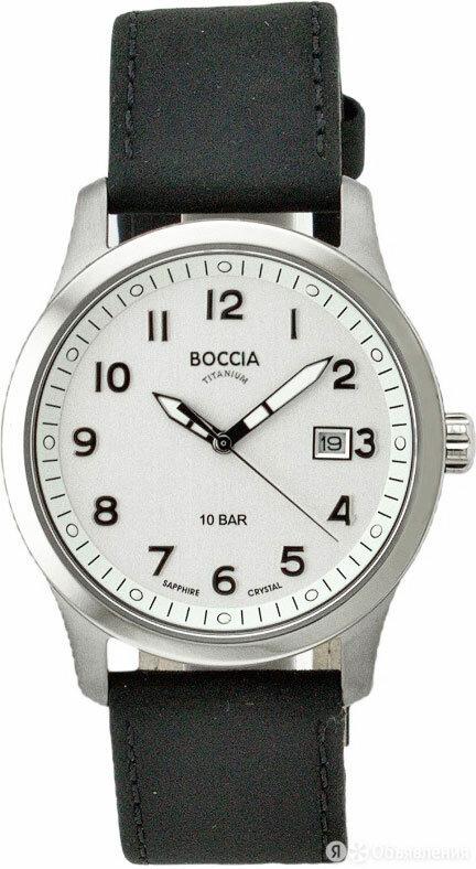 Наручные часы Boccia Titanium 3626-01 по цене 8230₽ - Наручные часы, фото 0