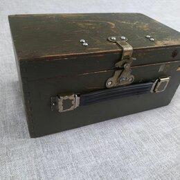Подарочная упаковка - Коробка из фанеры из под прибора. СССР.   , 0