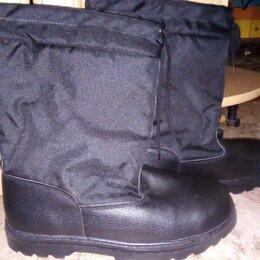 Обувь - сапоги войлочные утеплённые, 0
