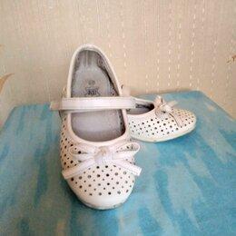 Балетки, туфли - Детские кожаные туфли р27, 0