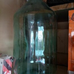 Бутылки - Стеклянная бутыль 20 литров, 0