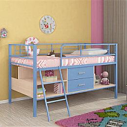 Кровати - Кровать-чердак ЛегкоМаркет Севилья-я-мини, 0