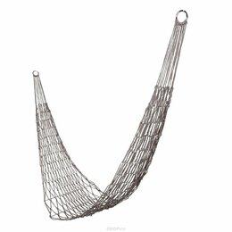 Гамаки - Походный, дачный гамак сетка 200х80 см. , 0
