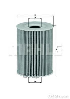 Фильтр Масляный (Вставка) Mahle/Knecht арт. OX254D4 по цене 1260₽ - Двигатель и комплектующие, фото 0