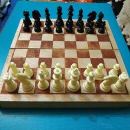 Настольные игры - Шахматы дорожные 20х20, 0
