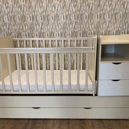 Кроватки - Кроватка детская трансформер, 0