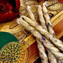 Декоративные свечи - Свечи Скрутки с травами, 0