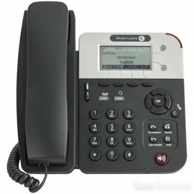 IP телефон Alcatel-Lucent Alcatel-Lucent 8001G по цене 5528₽ - Проводные телефоны, фото 0