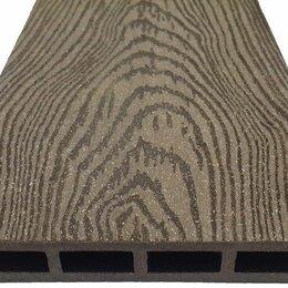 Массивная доска - Террасная доска ДПК Holzhof Better ПВХ Кольца дерева, 0