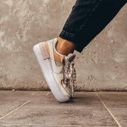Кроссовки и кеды - Кроссовки Nike Air Force 1 Shadow White Grey , 0