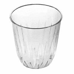 "Одноразовая посуда - Стакан 250мл""баккара"" прозрачный,d88, 0"