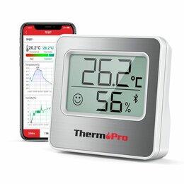 Термометры и таймеры -  Гигрометр термометр беспроводной Bluetooth до 80м, 0