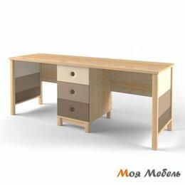 Компьютерные и письменные столы - Стол на два рабочих места «Робин Wood», 0