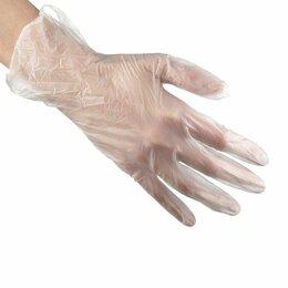 Средства индивидуальной защиты - Перчатки виниловые M одноразовые нестерильные неопудренные Noname, 0