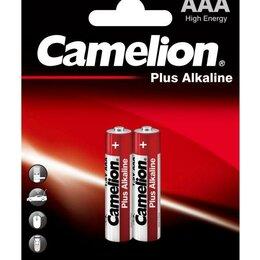 Батарейки - Элемент питания алкалиновый LR LR03 BL-2 (блист.2шт) Camelion 1651, 0