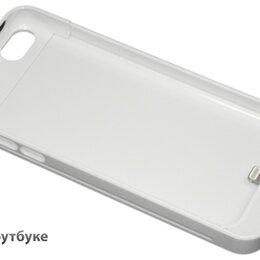 Универсальные внешние аккумуляторы - Дополнительный аккумулятор/чехол для Apple iPhone 5/5S 4200 mAh белый, 0