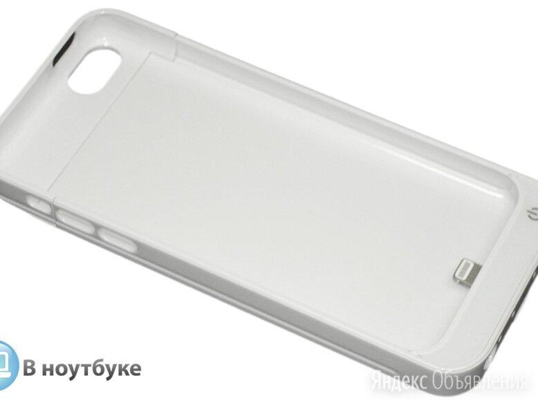 Дополнительный аккумулятор/чехол для Apple iPhone 5/5S 4200 mAh белый по цене 2400₽ - Универсальные внешние аккумуляторы, фото 0