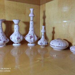 Посуда - Набор фарфоровый дамский парфюмерный туалетный из 1970-х Коростень, 0