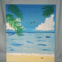 Картины, постеры, гобелены, панно - Берег моря, 0