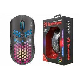 Мыши - Мышь игровая проводная MARVO M399,  6 кн, 800-6400dpi, USB,  чёрный 20044184, 0