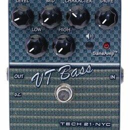 Гитарное усиление - Tech 21 VT Bass басовый предусилитель USED, 0