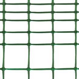 Заборчики, сетки и бордюрные ленты - Сетка садовая ФД-45, ячейки 15x45/45x45мм, рулон 1x5м, зеленая, 0
