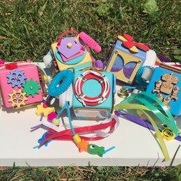 Развивающие игрушки - Детский дорожный бизикубик, 0