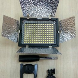Фотовспышки - Накамерный свет Yongnuo YN-160 III + АКБ, 0