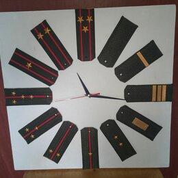 Часы настенные - Часы авторские, подарок военному, 0