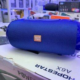 Портативная акустика - Колонка TG 503 синяя , 0