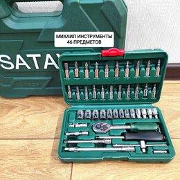 Наборы инструментов и оснастки - Набор инструментов Sata 46 предметов, 0