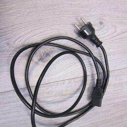Компьютерные кабели, разъемы, переходники - Компьютерный кабель питания (силовой, универсальный), 0