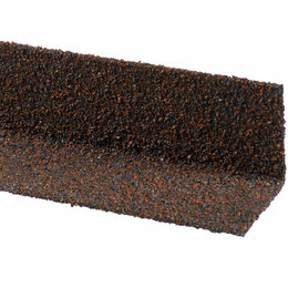 Отделочный профиль, уголки - Уголок внутренний металлический HAUBERK Баварский 50*50*1250мм, 0