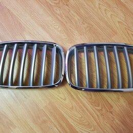 Кузовные запчасти - Решетки радиатора бмв е70 рестайлинг (ноздри), 0