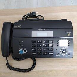 Факсы - Телефон-факс panasonic kx-ft982ru, 0