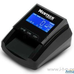 Детекторы и счетчики банкнот - Детектор банкнот Mertech D 20a Flash Pro Lcd автоматический рубли АКБ, 0