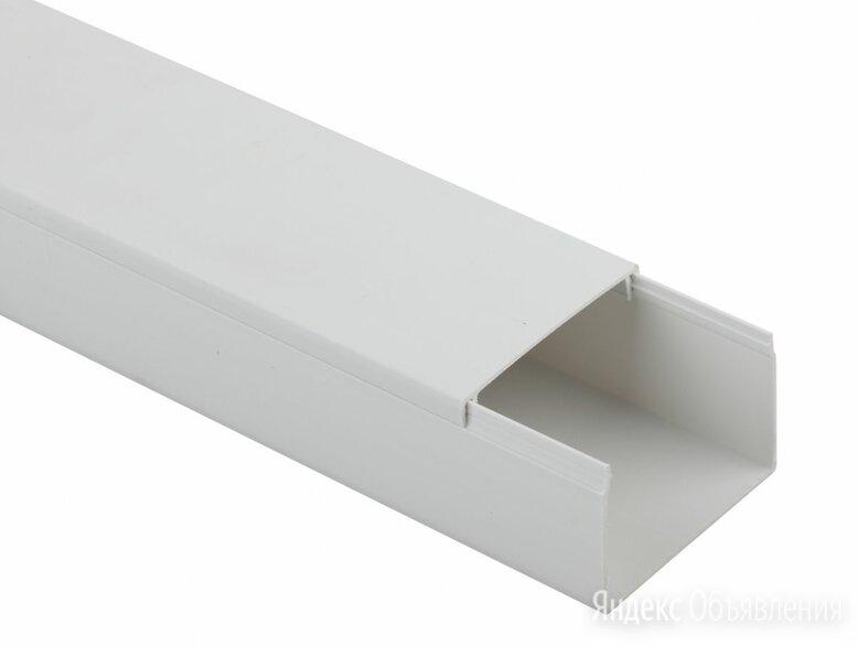 Кабель-канал 74*55*2000мм (белый) по цене 600₽ - Уголки, кронштейны, держатели, фото 0