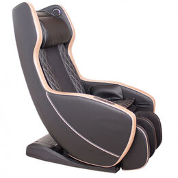 Массажные кресла - Массажное кресло Bend GESS-800 коричнево-чёрное, 0
